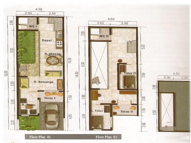 Narrow House Design Bedroom Furniture Ideas