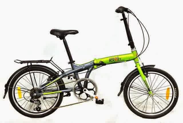 Harga Sepeda Lipat Terbaru 2014
