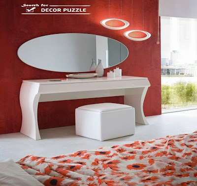 white dressing table designs