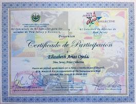 Certificado de Participación 4-06-2018