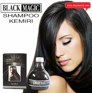 Black Magic Kemiri Shampoo Original Perawatan Rambut Indahmu