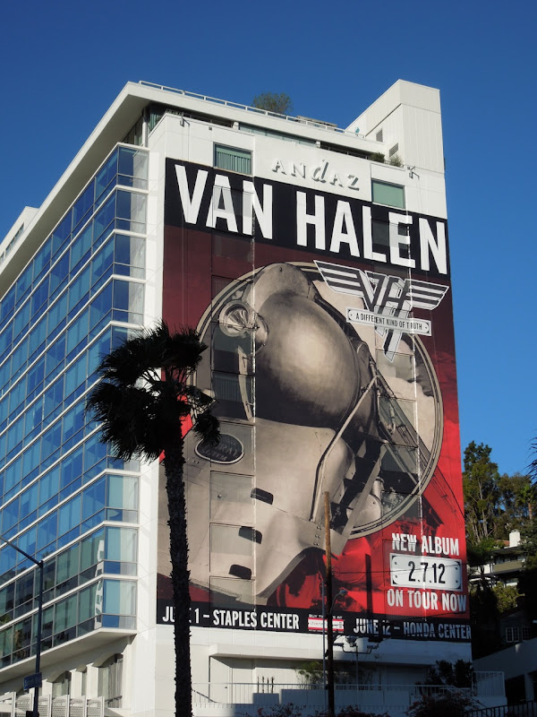 Giant Van Halen billboard