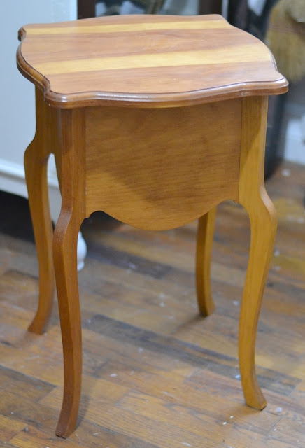 Small Painted End Table