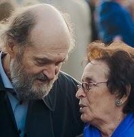 Arvo Pärt & wife Nora.
