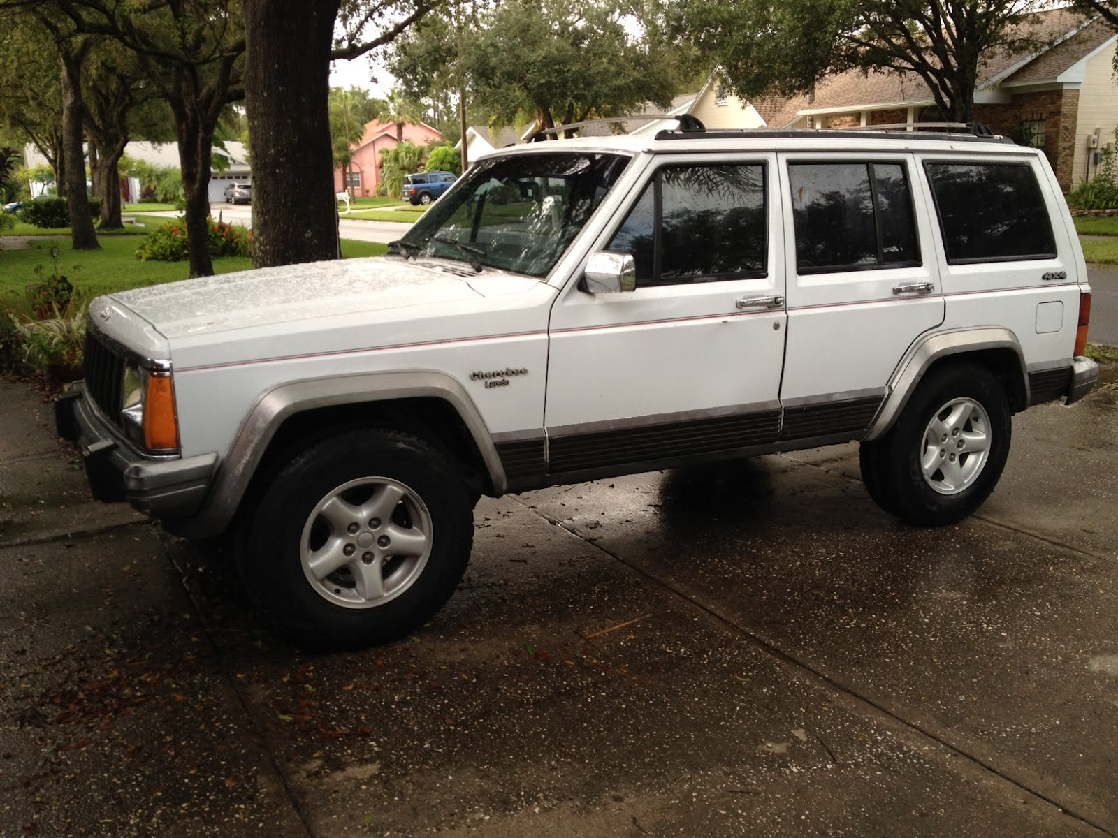morrison's garage: new toy - 1992 jeep cherokee xj 4x4