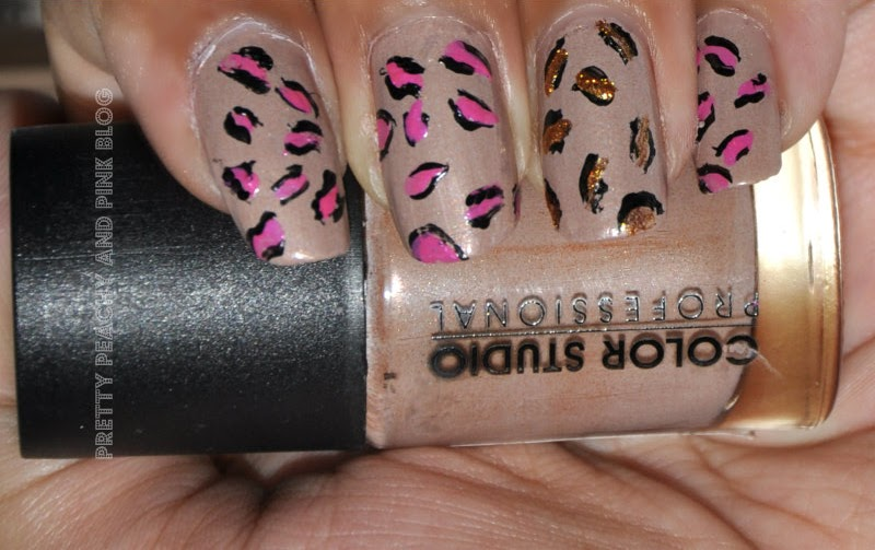 Pink leopard mani CSP mocha