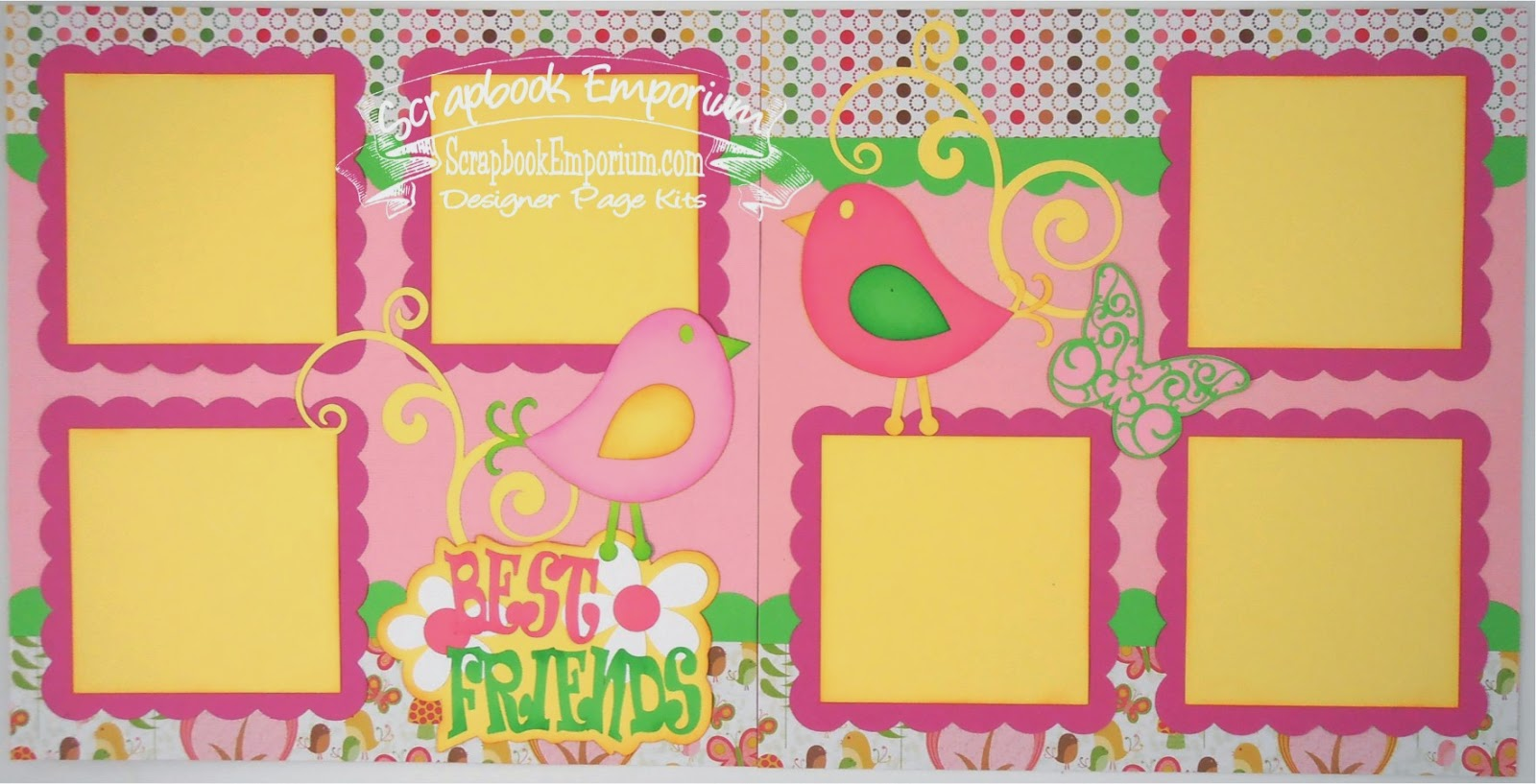 Best friend scrapbook ideas - Best Friends Scrapbook Pages Page Kits