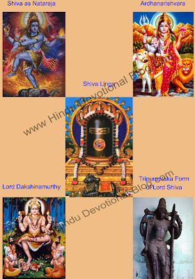 Picture of 5 Important Forms and  Depictions of Lord Shiva