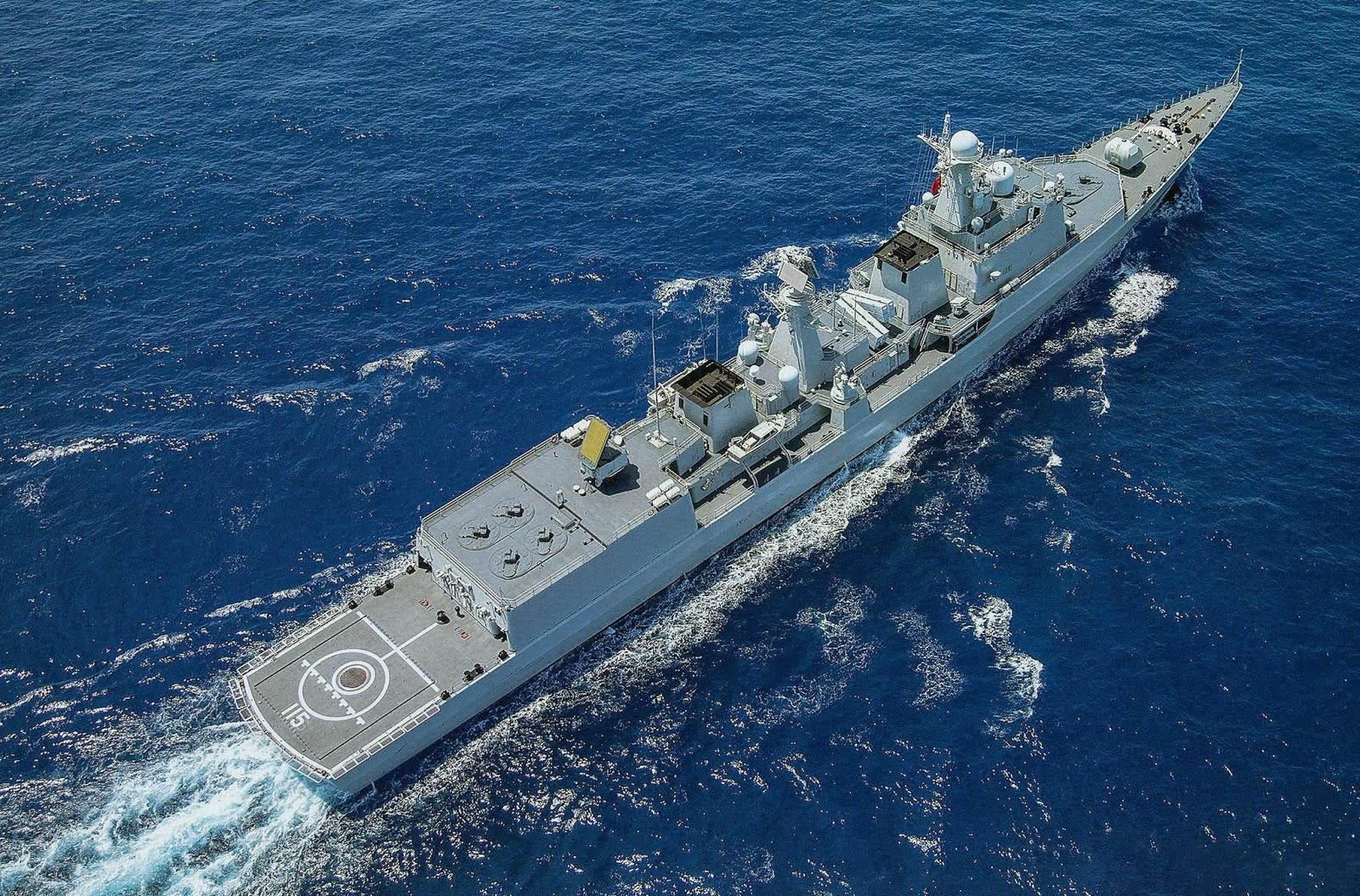 ЗРК китайского флота, Ч.2