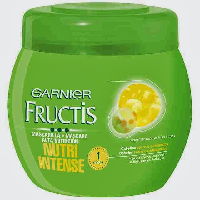 mascarilla fructis de Garnier