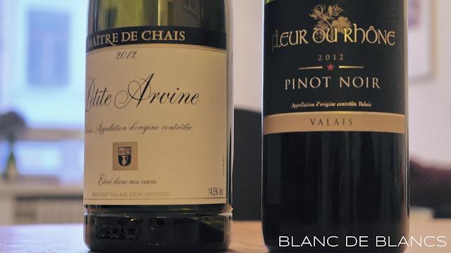 Sveitsiläistä viiniä - www.blancdeblancs.fi