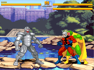Superheroes 2000 Mugen v4 Ultron vs Avengers