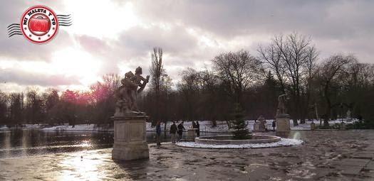 Parque Lazienki o de Chopin, Varsovia