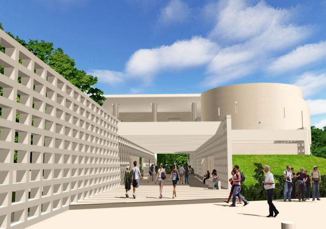 Arquim xico noticias arquitectura el museo maya en la for Arquitectura en maya
