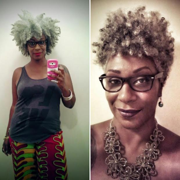 ain't yo momma's gray hair
