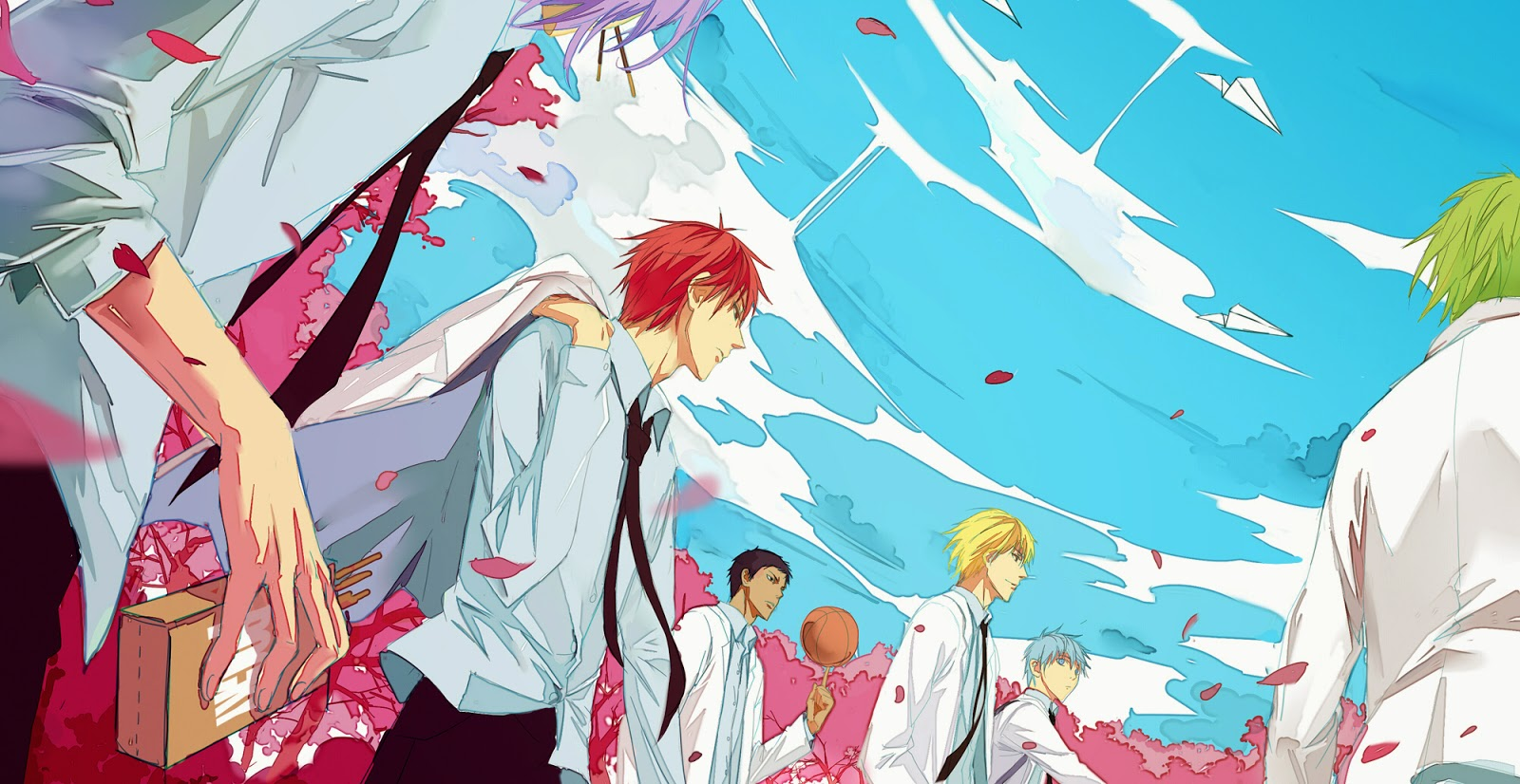 Anime Batch Wallpaper Anime Batch Kuroko No Basuke
