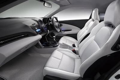 Mobil Honda CR-Z Hybrid Beserta Interior Terbaru