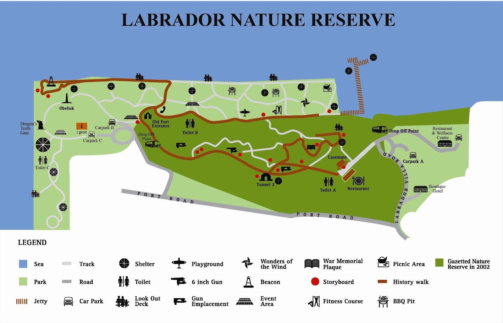 how to get to labrador park