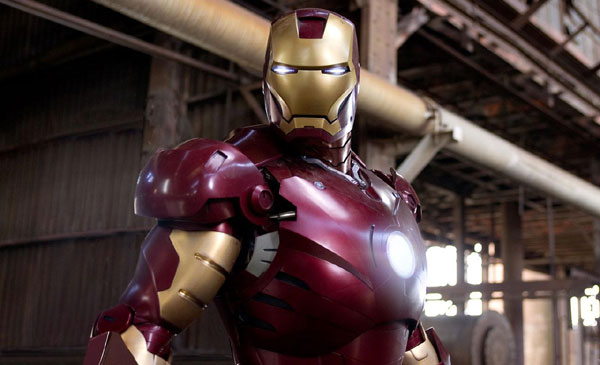 Iron Man, starring Robert Downey Jr. and directed by Jon Favreau