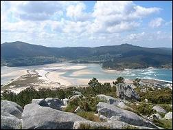 Ría de Corme y Laxe, entorno de Casa de Balsas, alquiler vacacional, turismo de Galicia, en Costa da Morte, La Coruña, casas completas, alquiler barato con ofertas