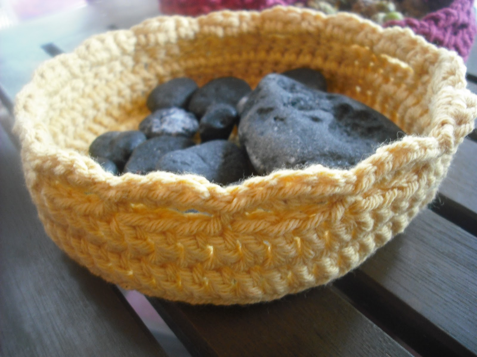 Purple Chair Crochet: Nesting Bowl Trio - Free!