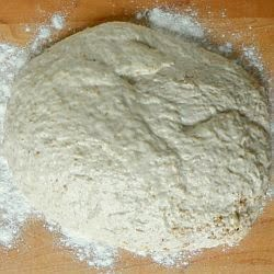 shaped dough