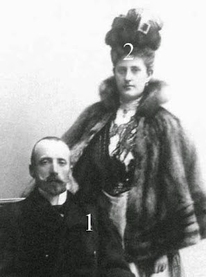 Archiduc et archiduchesse Karl Stephan d'Autriche
