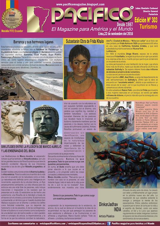Revista Pacífico Nº 303 Turismo