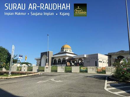 Surau Ar-Raudhah mula beroperasi pada 7 Jun 2015
