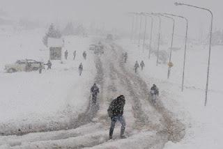 Nevasca em Bariloche