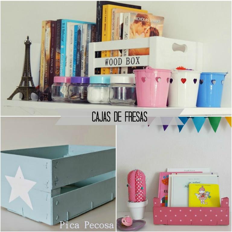 Confesiones literarias decorando con libros y cajas - Libros para decorar ...