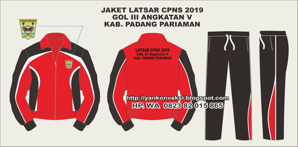 JAKET TRAINING LATSAR