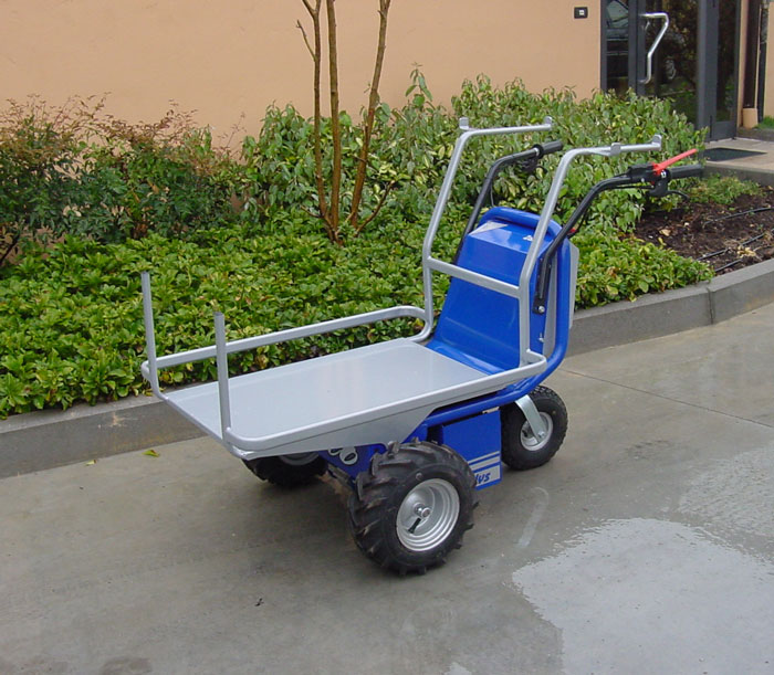 Motorized wheel barrow zallys made in italy quality for Motorized wheelbarrows for sale