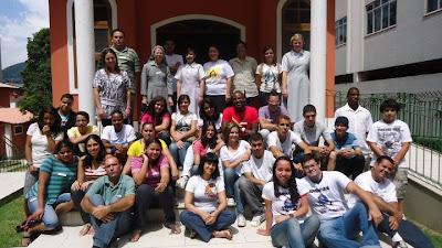 Encontro de Formação Missionária das POM em Teresópolis/RJ e participação do programa Paz e Bem nos dias 3 e 4 de março de 2012