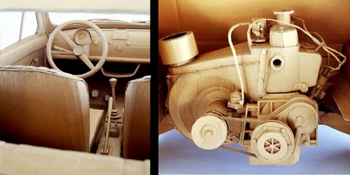 02-Fiat-500-Detail-Life-Size-Chris-Gilmour-Cardboard-Sculptures-www-designstack-co