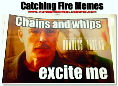 Catching Fire meme: Romulus Thread #HungerGames