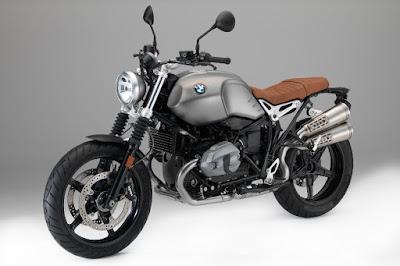 BMW R nineT Scrambler (2016) Front Side