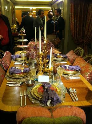 Gilded Venetian Glasses Amber Liquor Murano