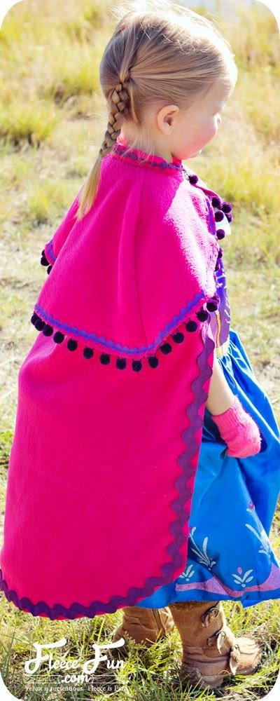 Tutorial capa Ana Frozen Disney #diy