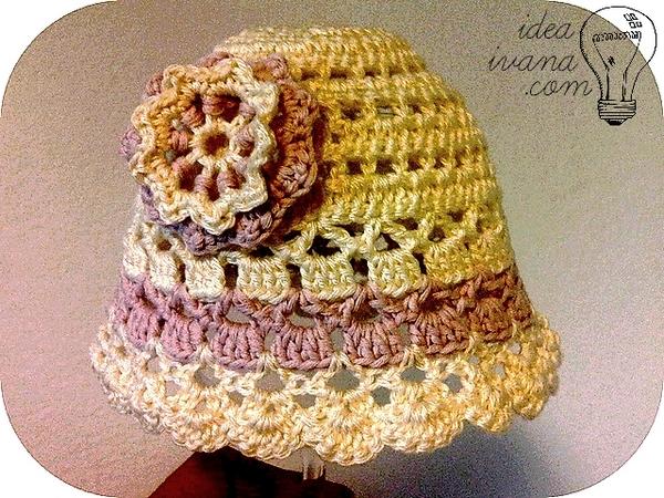 light summer hat crochet pattern