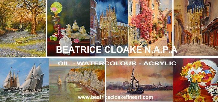 Artist Beatrice Cloake - Hythe Kent -