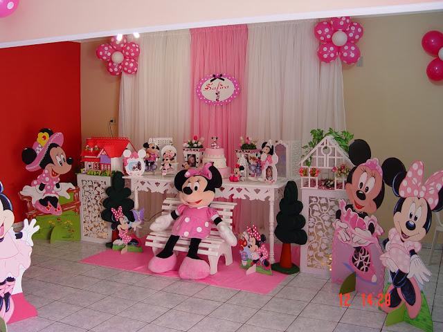 nanda rosa decorações minie rosa provençal ~ Quarto Rosa Da Minie