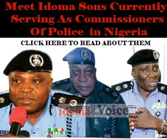 Idoma police commissioners