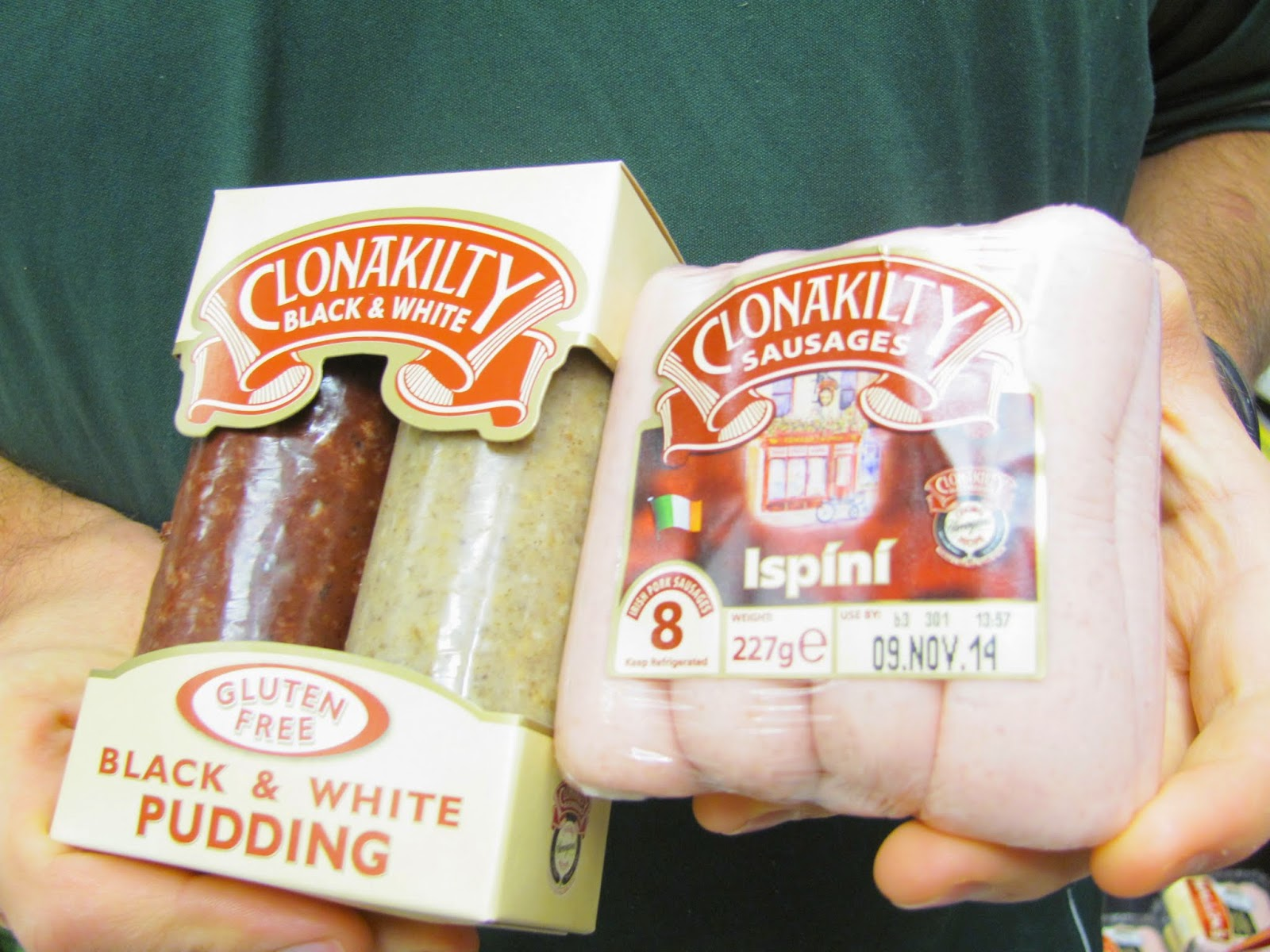 Black and White Pudding and Sausage from Clonakilty