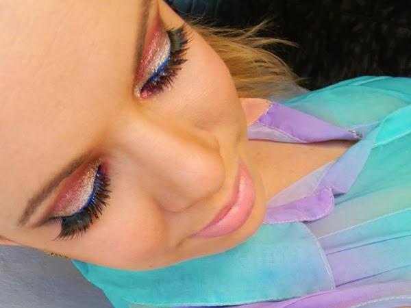 vídeo maquiagem de carnaval
