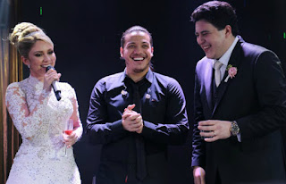 Noivos pagam meio milhão por show de Wesley Safadão em casamento, diz site