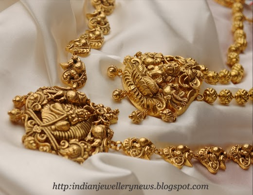 Temple Jewellery Designs From Tanishq