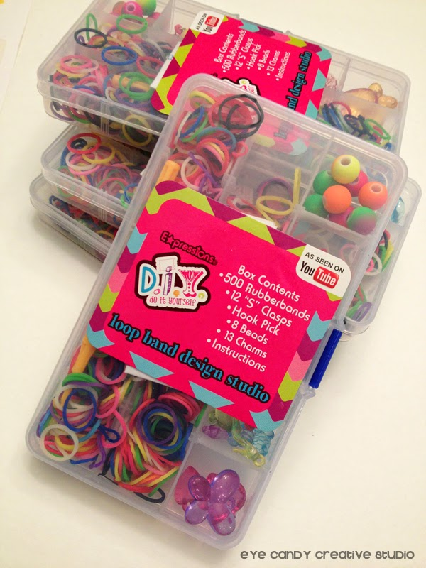 rainbow loom kits, Target One Spot, Target find, loop bands, party favors