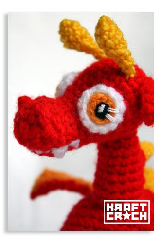 Baby Dragon Amigurumi Pattern : kraftcroch: ? patron amigurumi bebe dragon / amigurumi ...