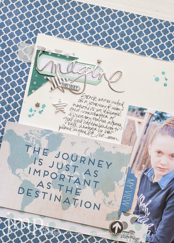 imagine | Pink Paislee Atlas  #travel #journey #document #ppAtlas #tradlayout